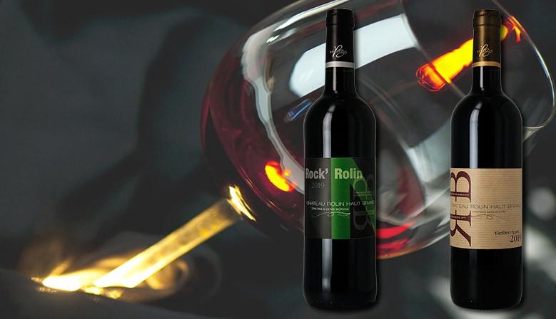 Les vins bio de Bordeaux du Château Rolin Haut Briand
