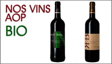 Nos vins AOP Bordeaux bio