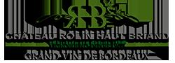 Pampre de la vigne et logo du Château Rolin Haut Briand